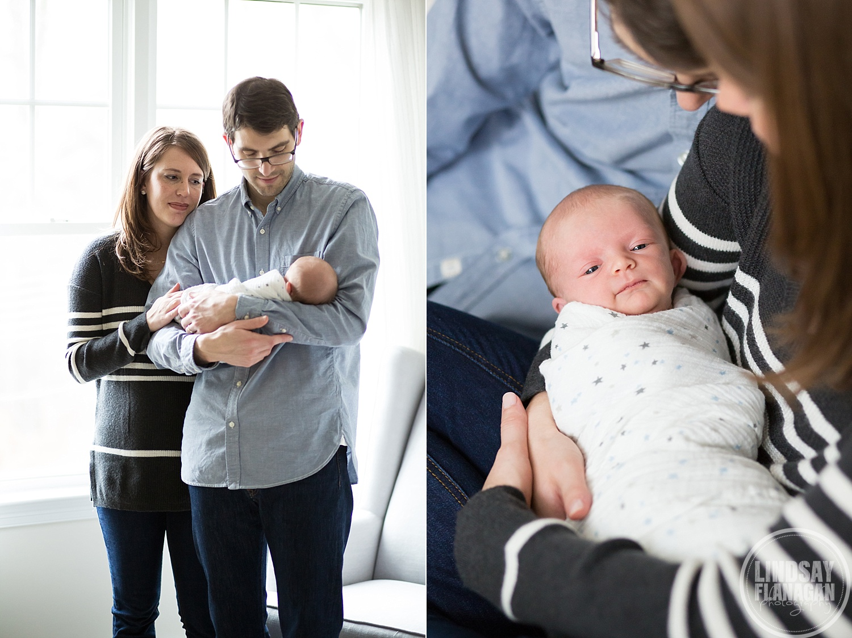 Documentary Lifestyle Newborn Baby Photographer in Massachusetts