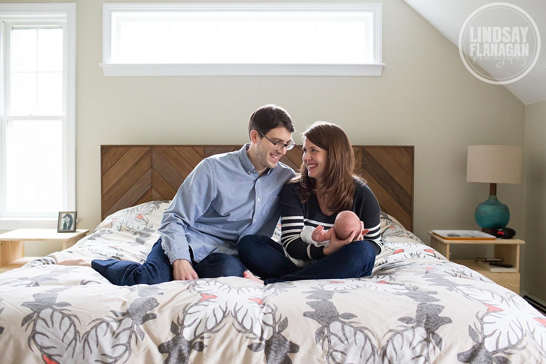 Massachusetts Newborn Baby Lifestyle Documentary Photography