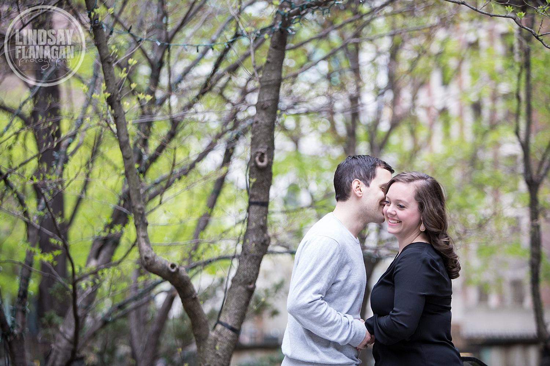 Boston City Wedding Engagement Photographer