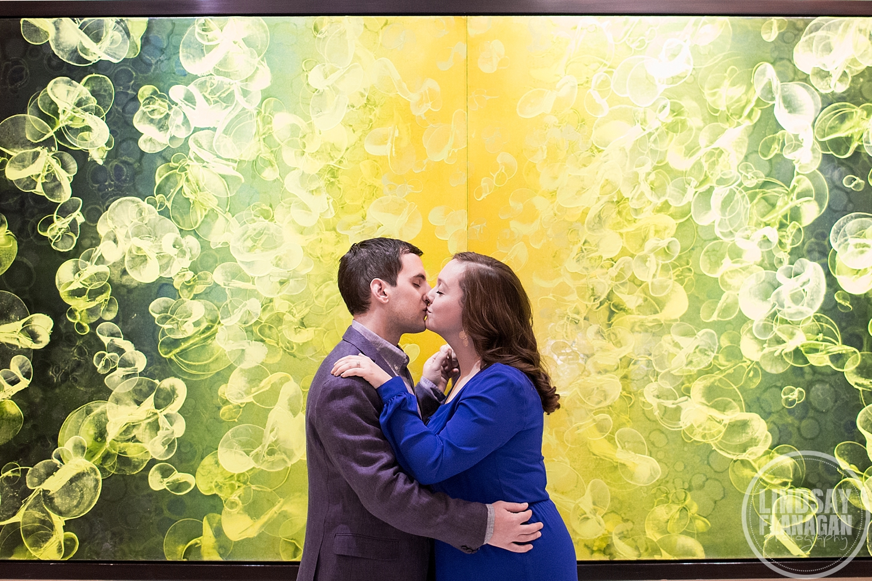 Nine Zero Boston Hotel Engagement Wedding Photographer
