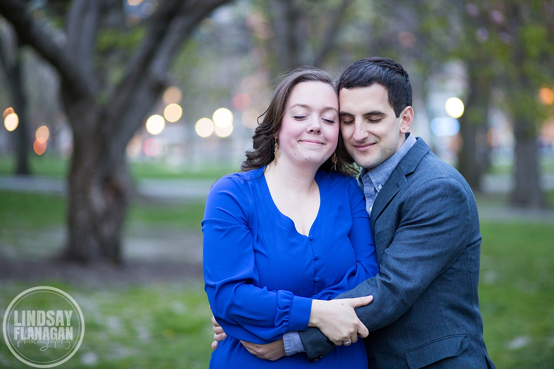 Boston Common City Wedding Engagement Photographer