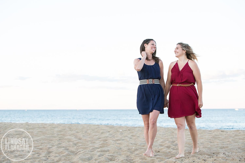 Same Sex Gay Friendly Engagement Photographer Newburyport Massachusetts
