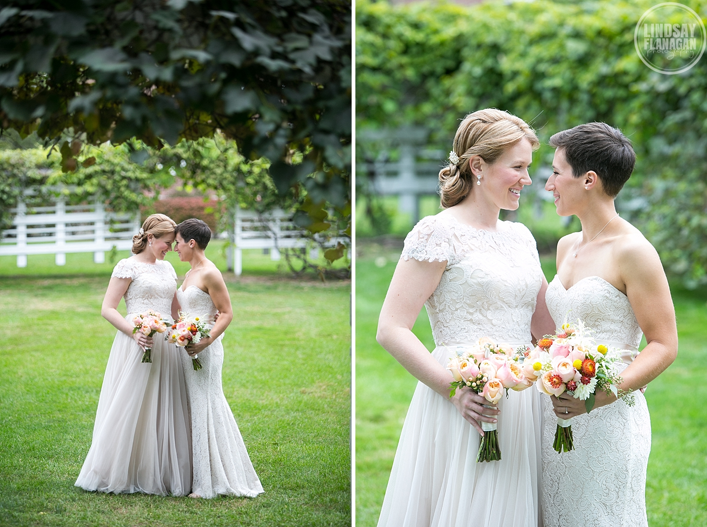 Same Sex Lesbian Wedding Commanders Mansion Watertown Massachusetts