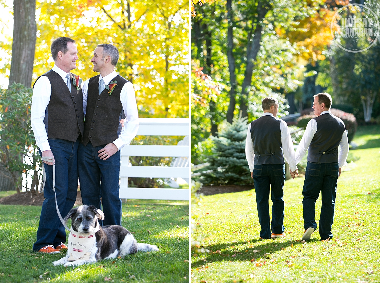 Mill Falls Meredith New Hampshire Gay Wedding Photographer