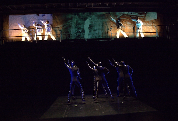 "Decroux's  ""The Factory""  Juniata College 2012"