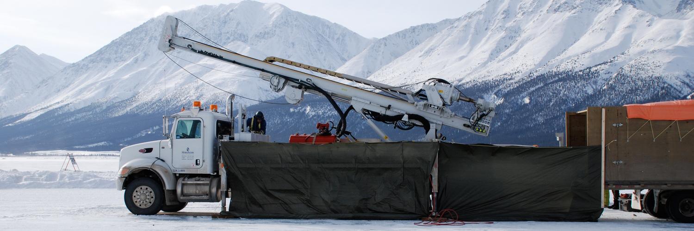 A Fraste FS 250 on Kluane Lake, Yukon.