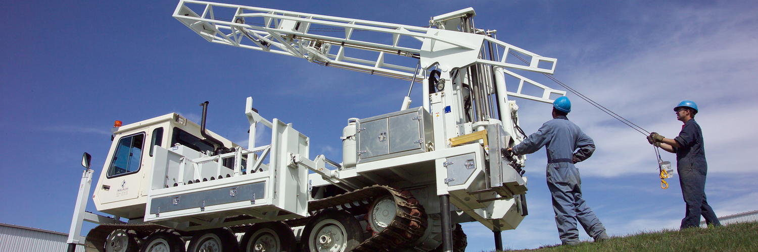 The powerful M 10 T tracked auger drill is proven tough in the harshest drilling conditions.