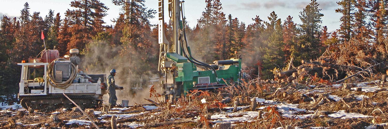 Fraste MDXL on windmill site in Northern B.C.