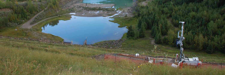Fraste XL at Brazeau Dam, AB