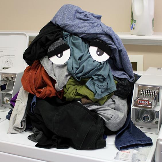 laundry monster