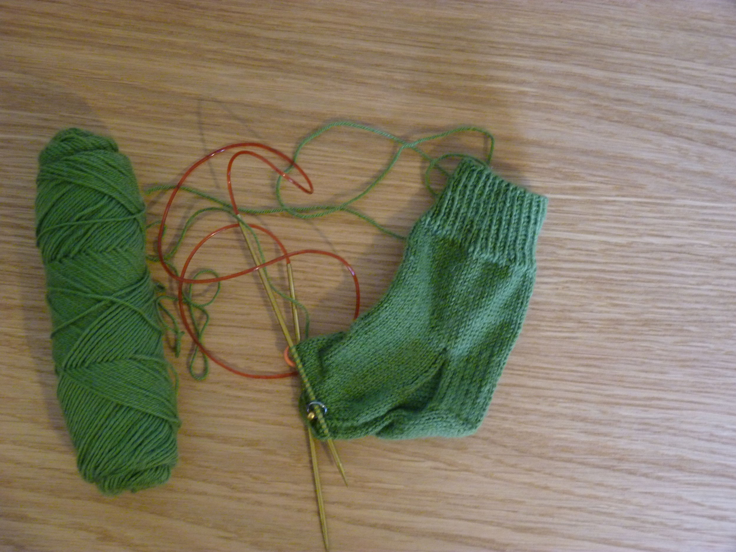 Veuf Tricot's first sock