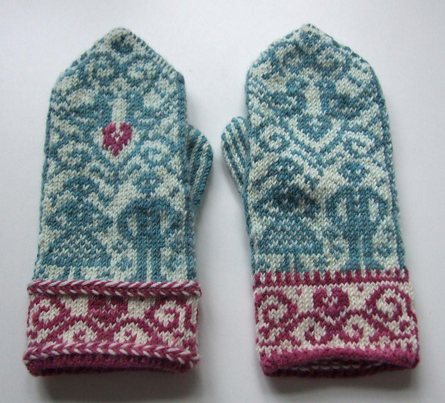 Wedding Mittens