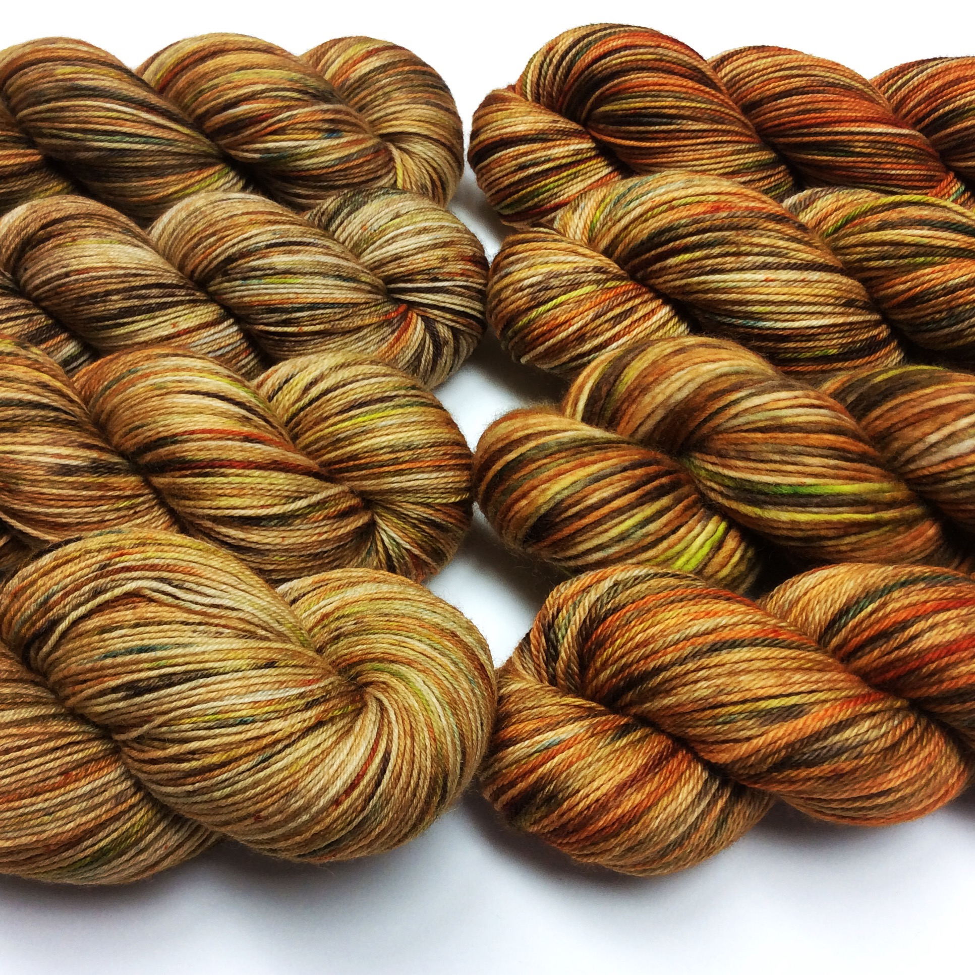 This Turkey Run colourway perfectly encapsulates seasonal colours
