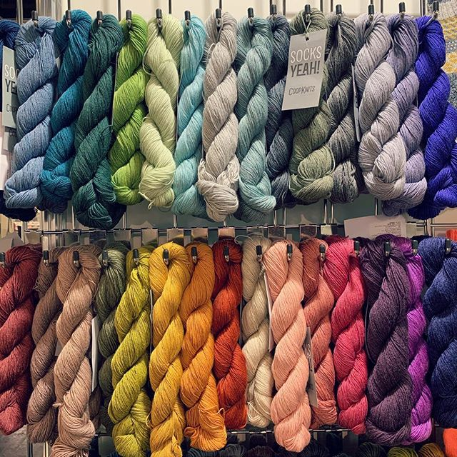 I'm at H&H in Cologne with @fyberspates and @chesterwool until Sunday so if you're coming don't forget to say hello!