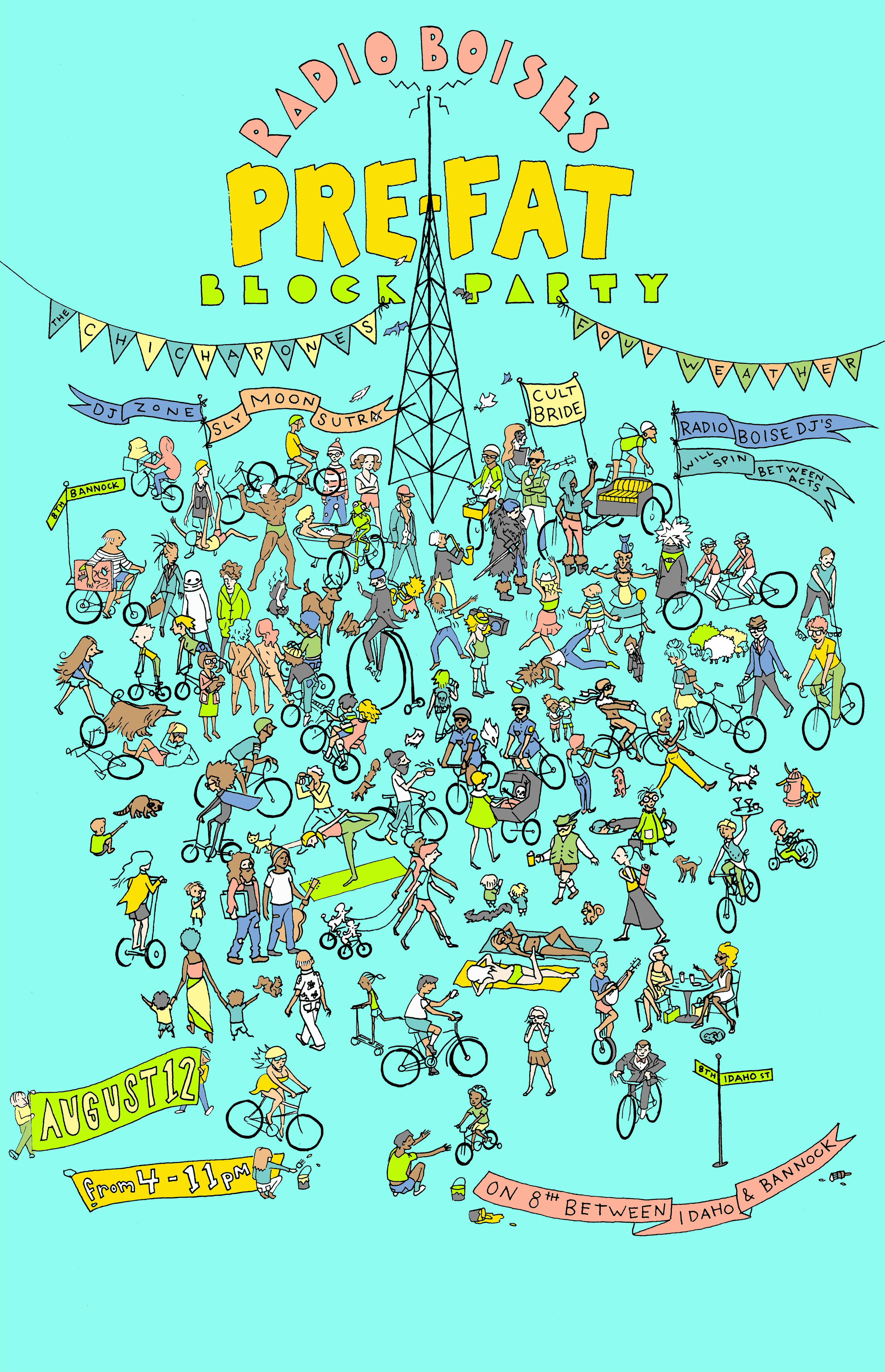 Radio Boise Pre-fat Block Party