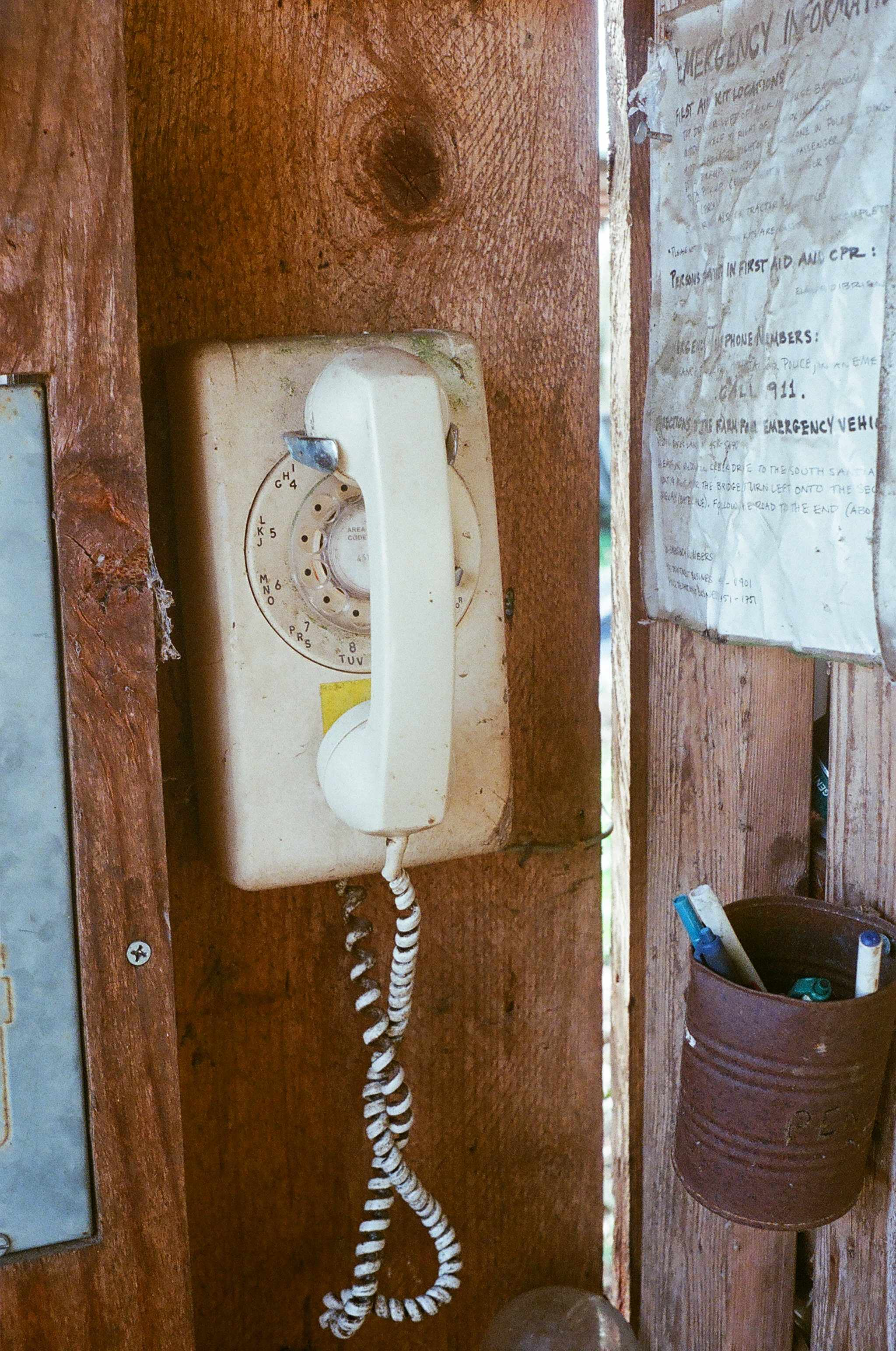 We believe that an important part of sustainability is to challenge obsolescence by using items until they are worn out. Many people regard rotary phones as outdated, but this one is still serving us after 30+ years of use.