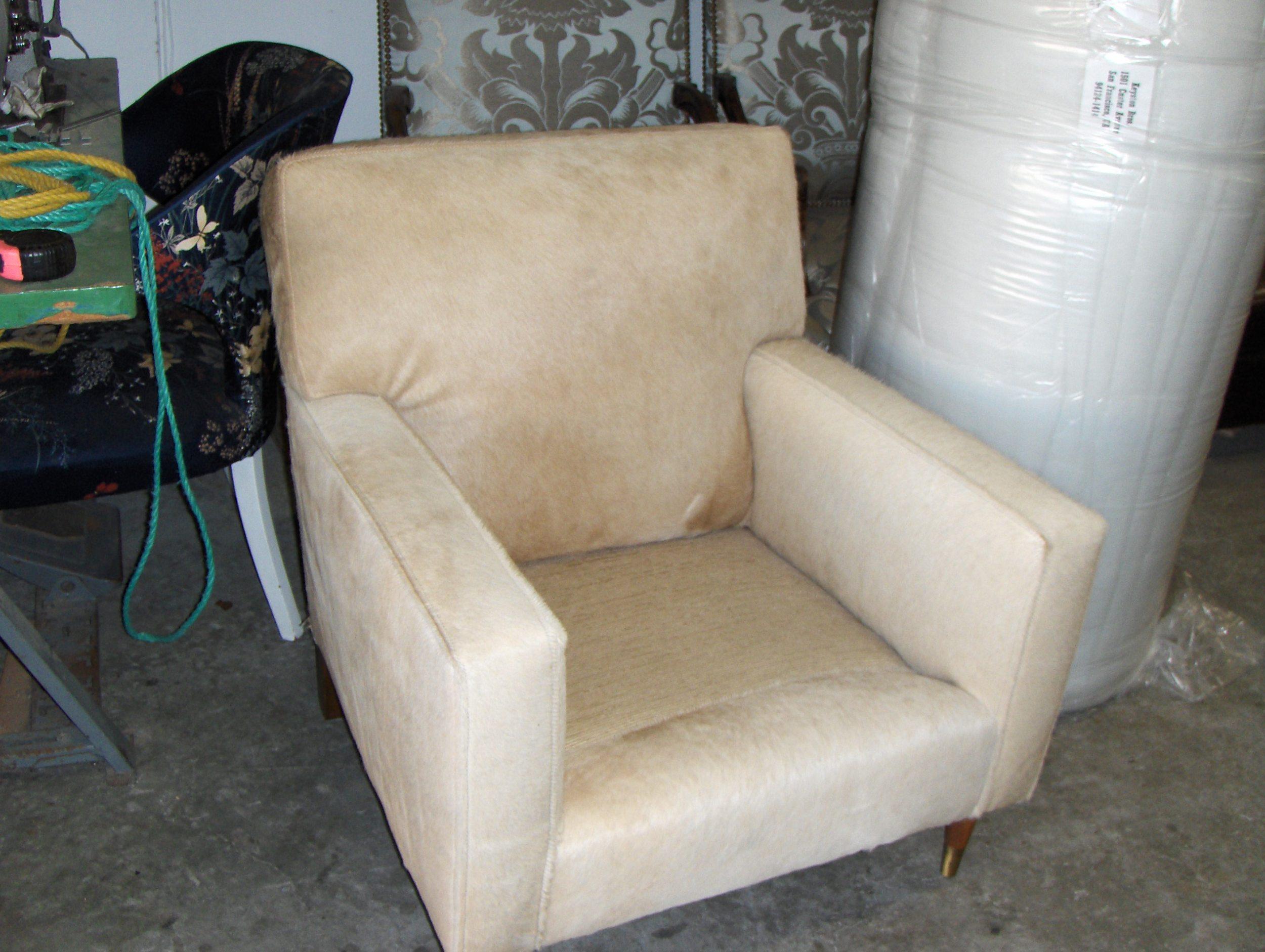 Side Chair  Hair on Hide w/ welt