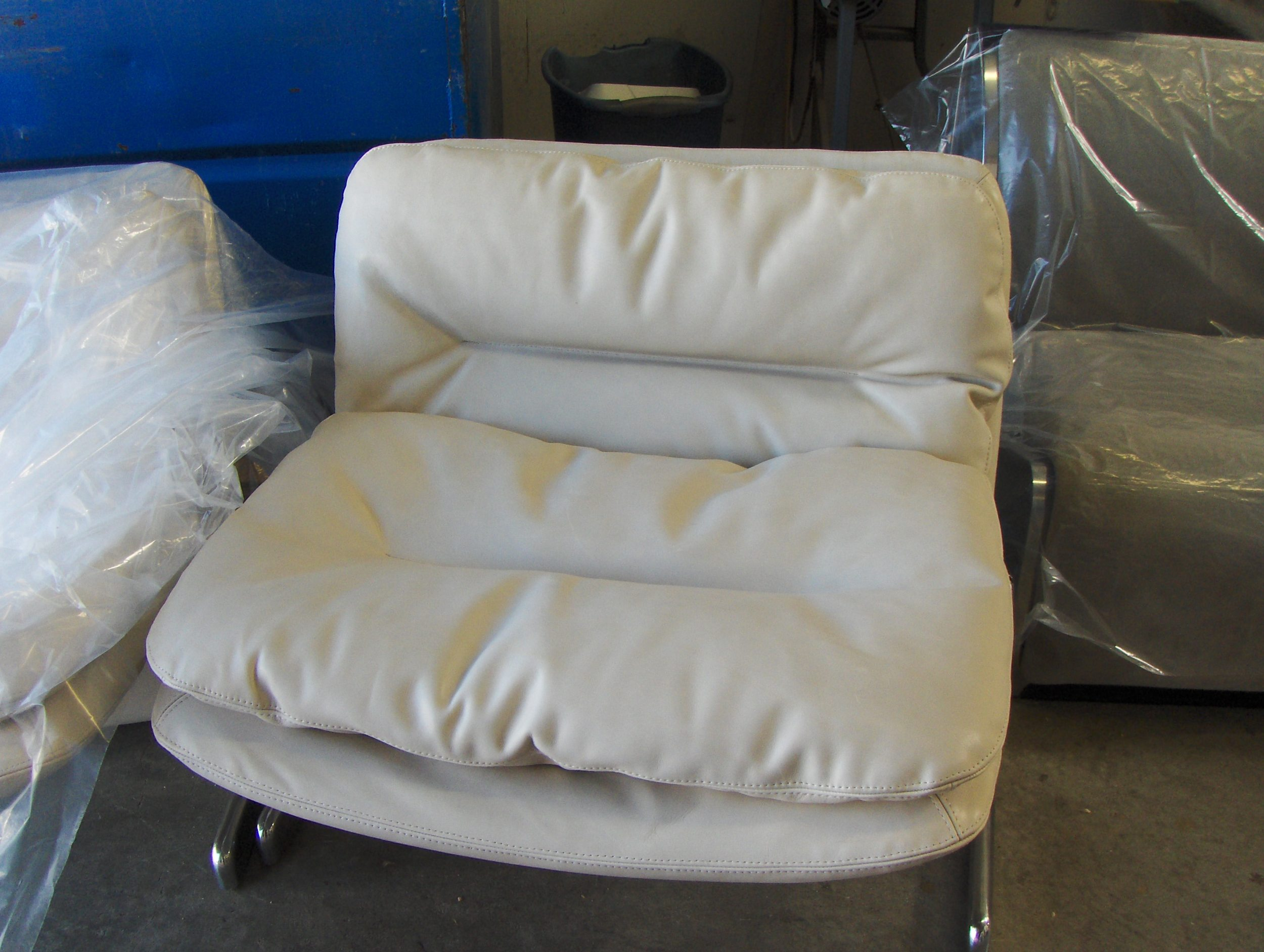 Slipper Chair  Leather