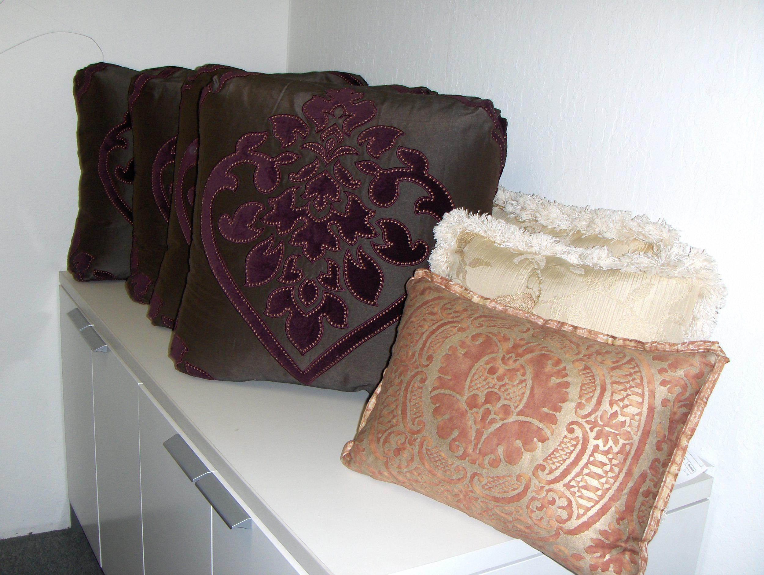 Throw Pillows  Silk & Fortuni