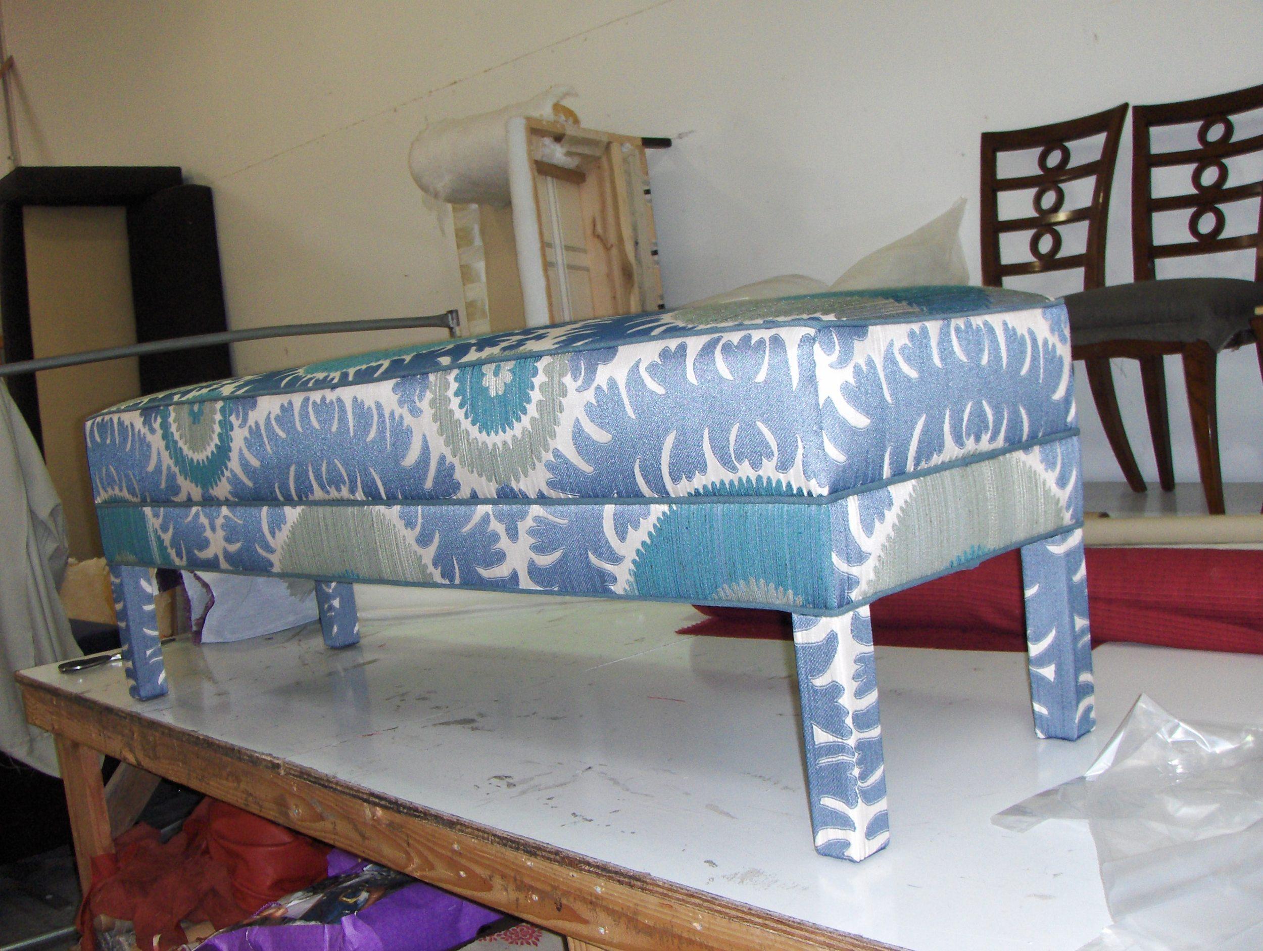 Bench  Suzani Fabric