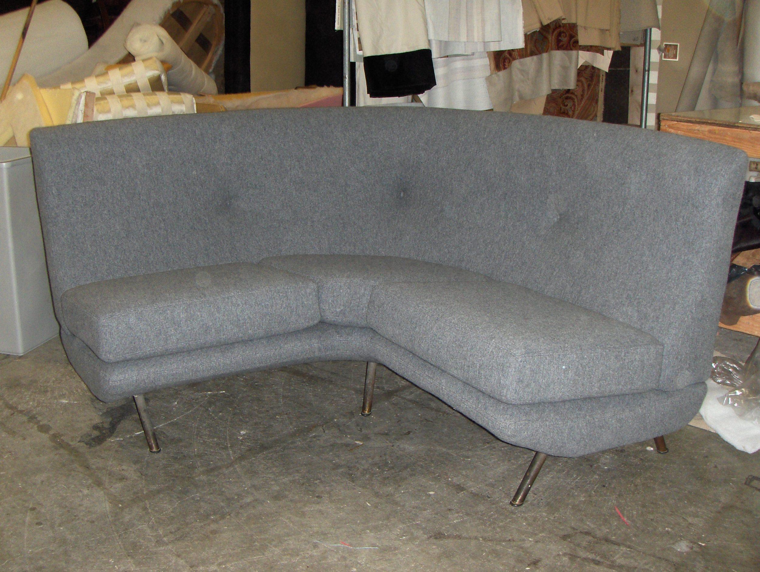 Corner Sofa  Boiled wool