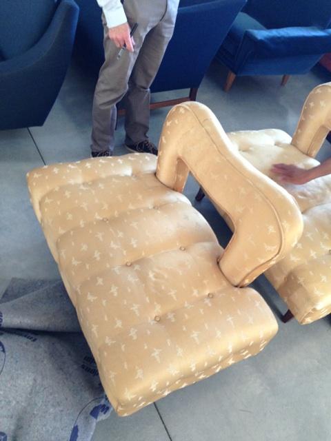 Side Chairs  Silk Print