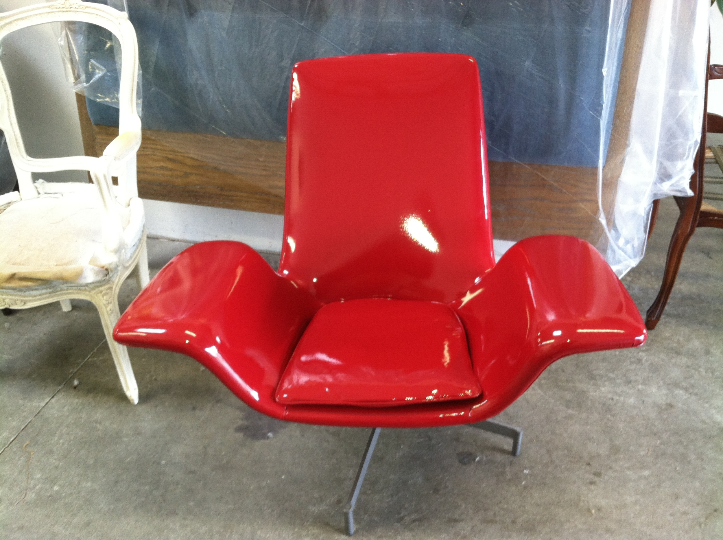 Side Chair  Patent Leather