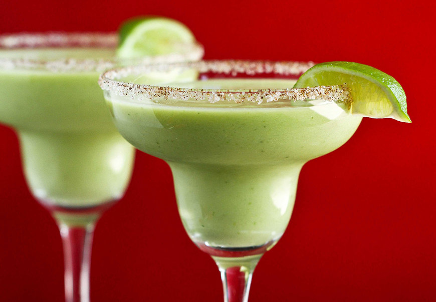 Adult Beverages - Blended adult beverages aren't going away anytime soon, and this avocado margarita is one of the most unique versions we've seen. Health + fun is a huge win in our book.Photo and recipe via: California Avocado Commission