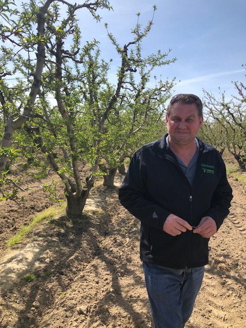 Our largest California stone fruit grower, Luke Woods.