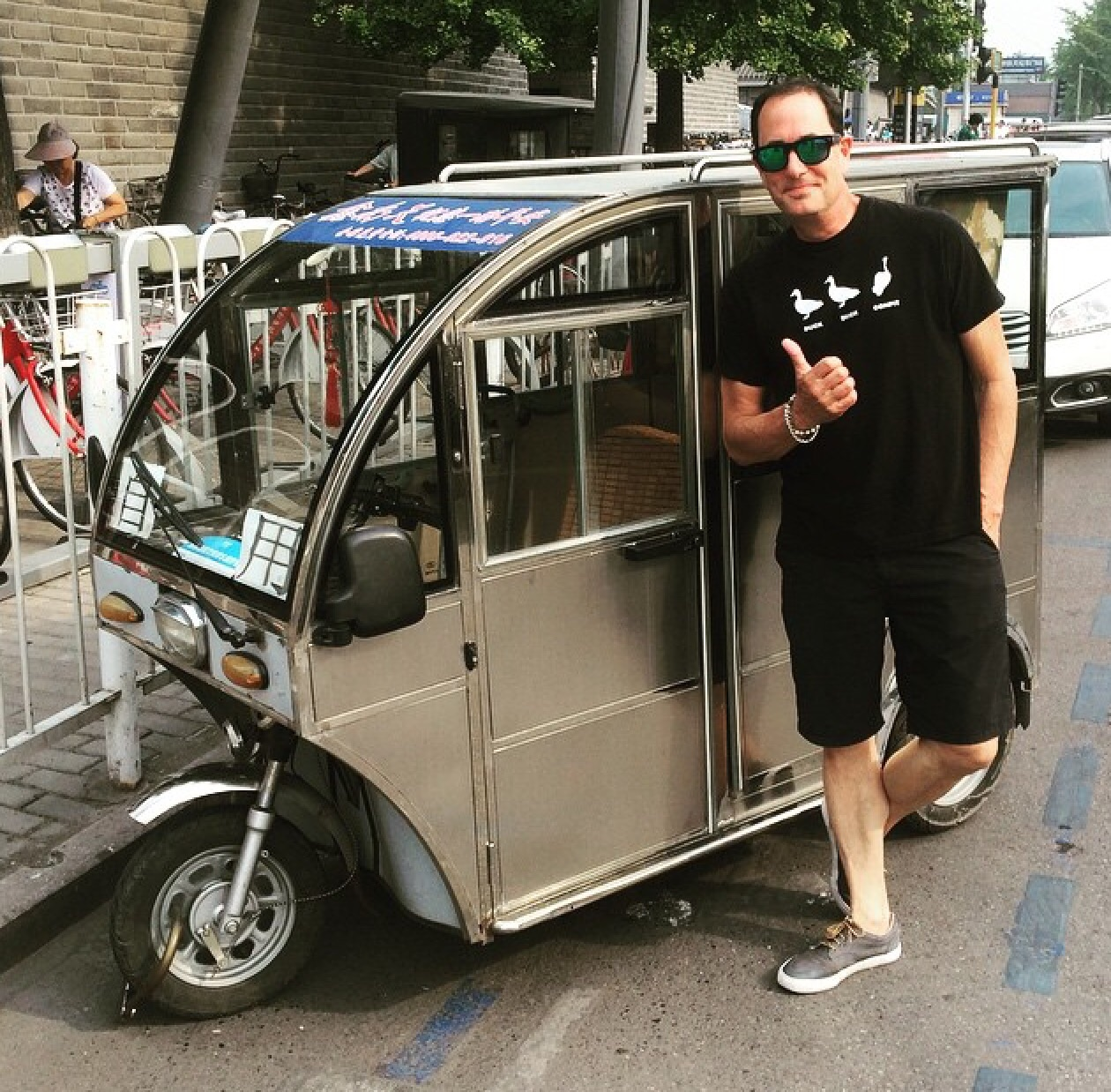 My new favorite car, perfect for supermarket runs @ Beijing, China