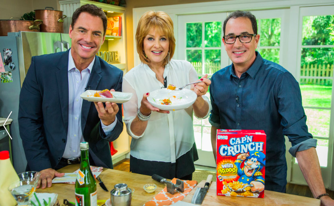 SAM THE COOKING GUY HOME AND FAMILY SHOW HALLMARK