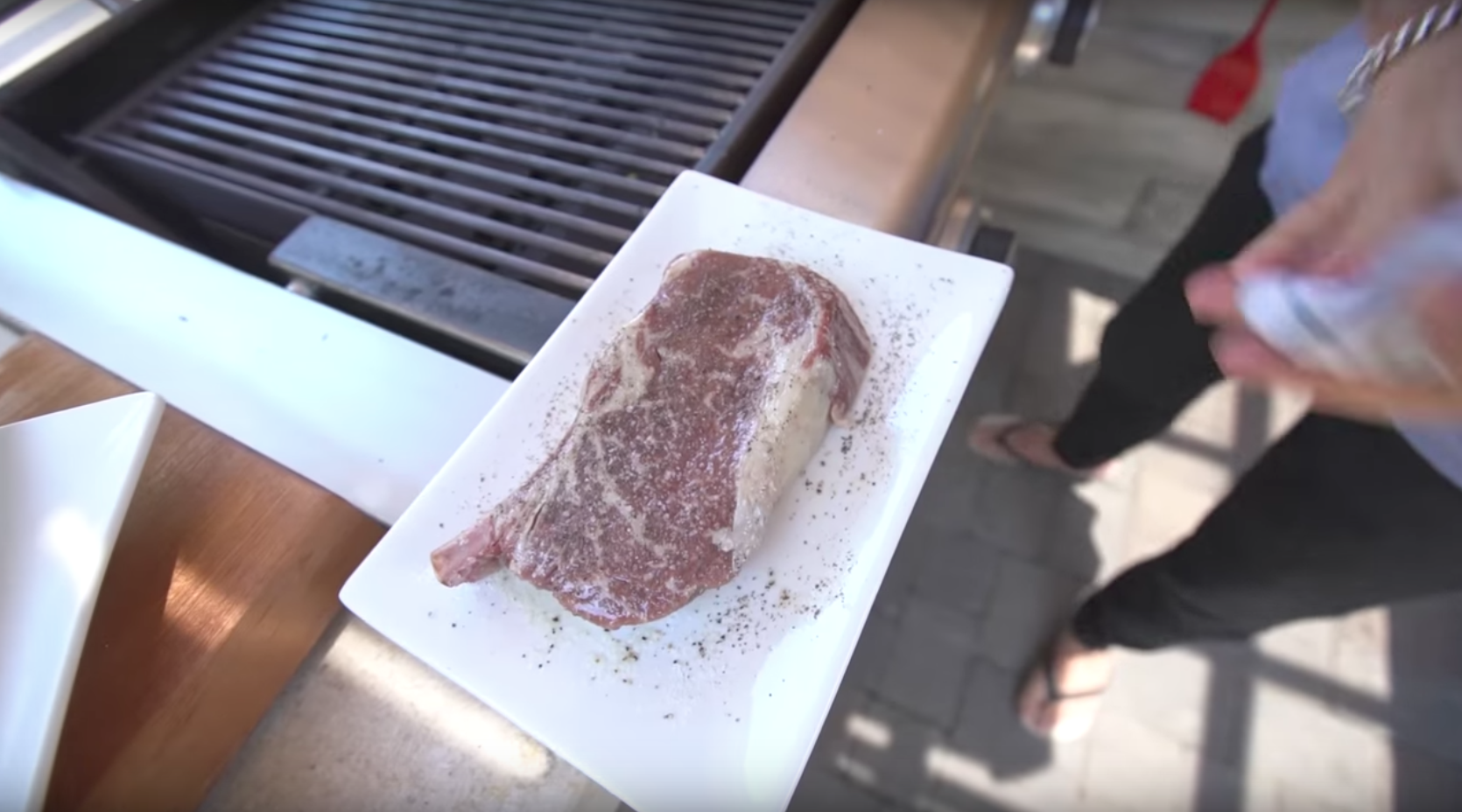 sam the cooking guy steak grilling