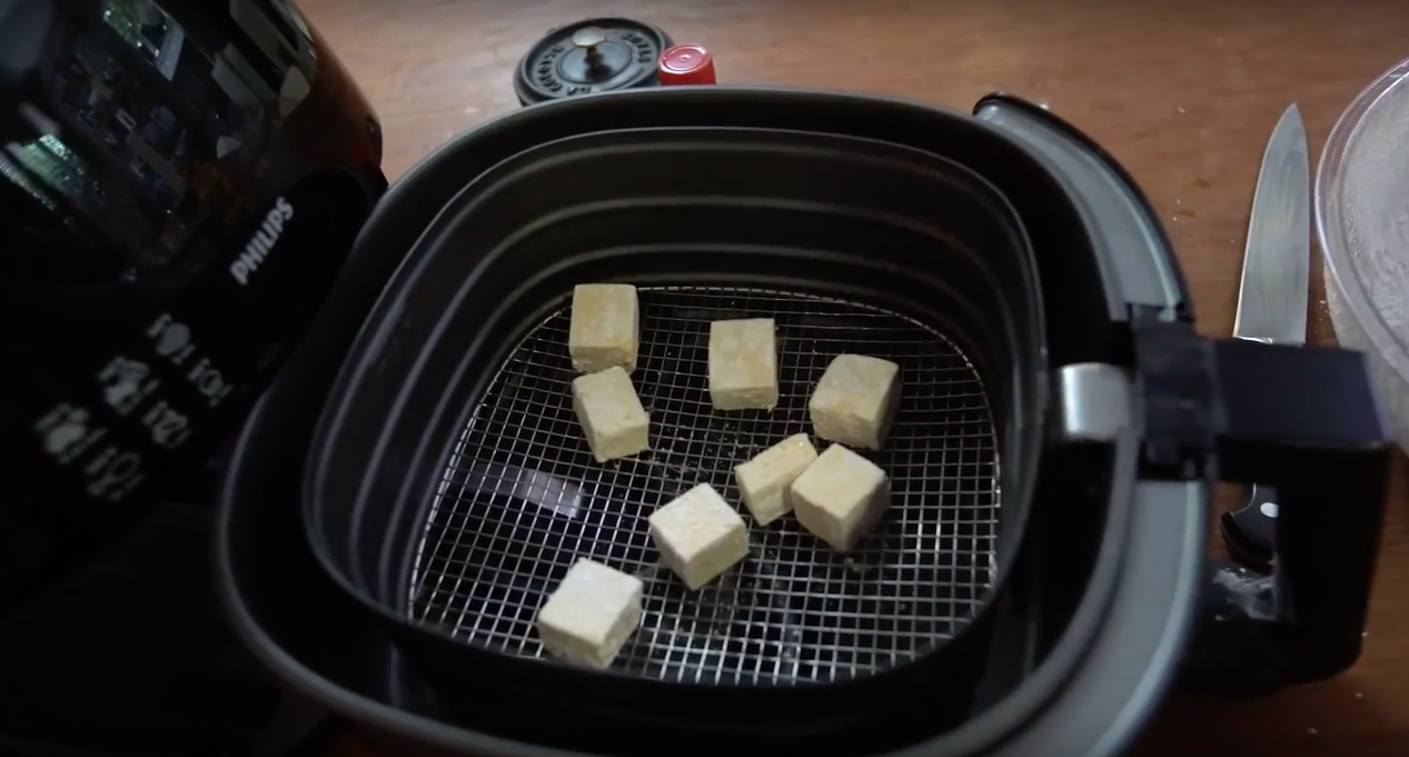 air fried tofu the cooking guy