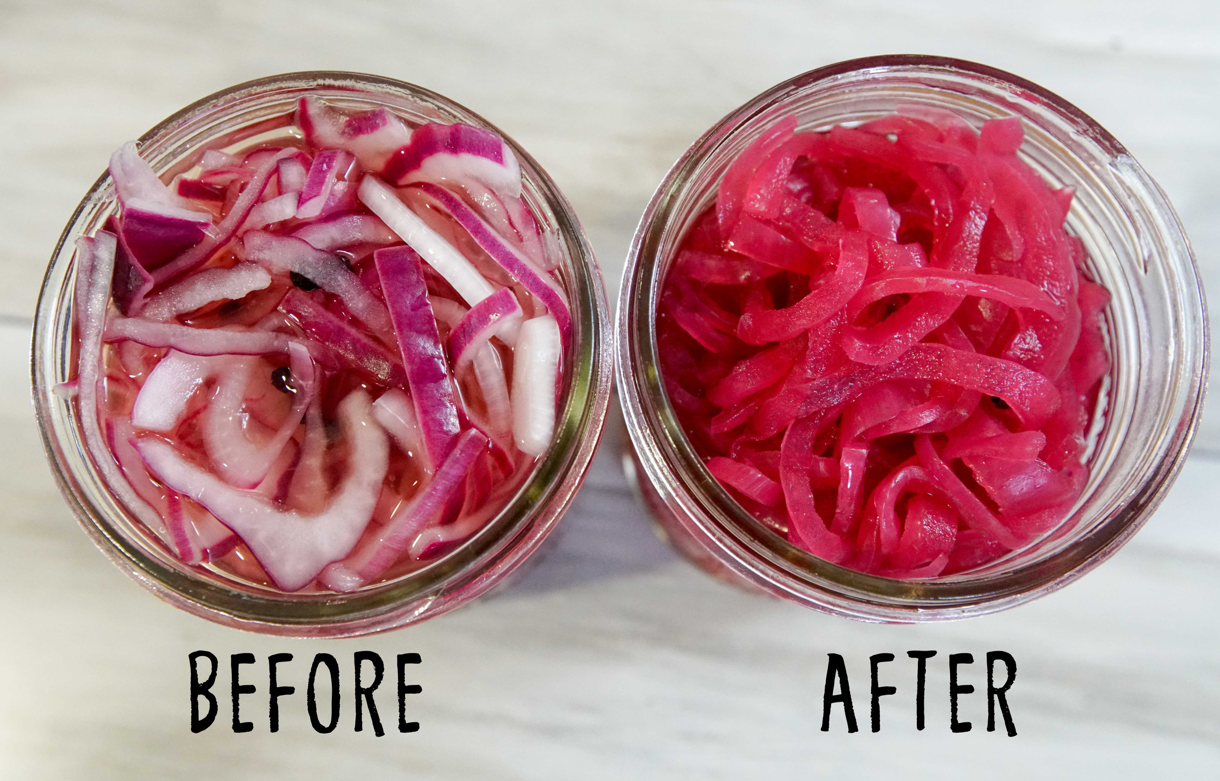 pickled red onions stcgo