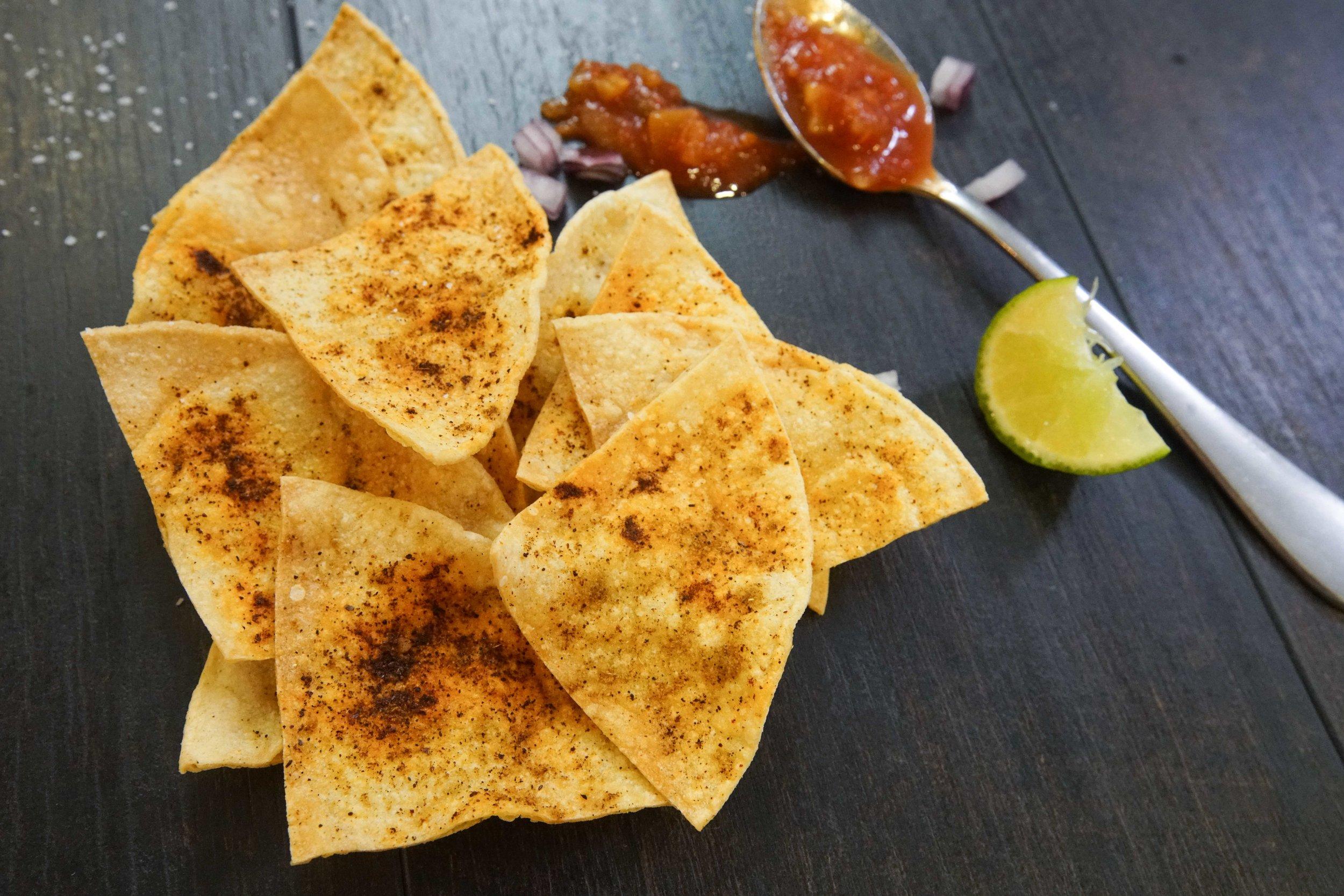 homemade tortilla chips stcgo