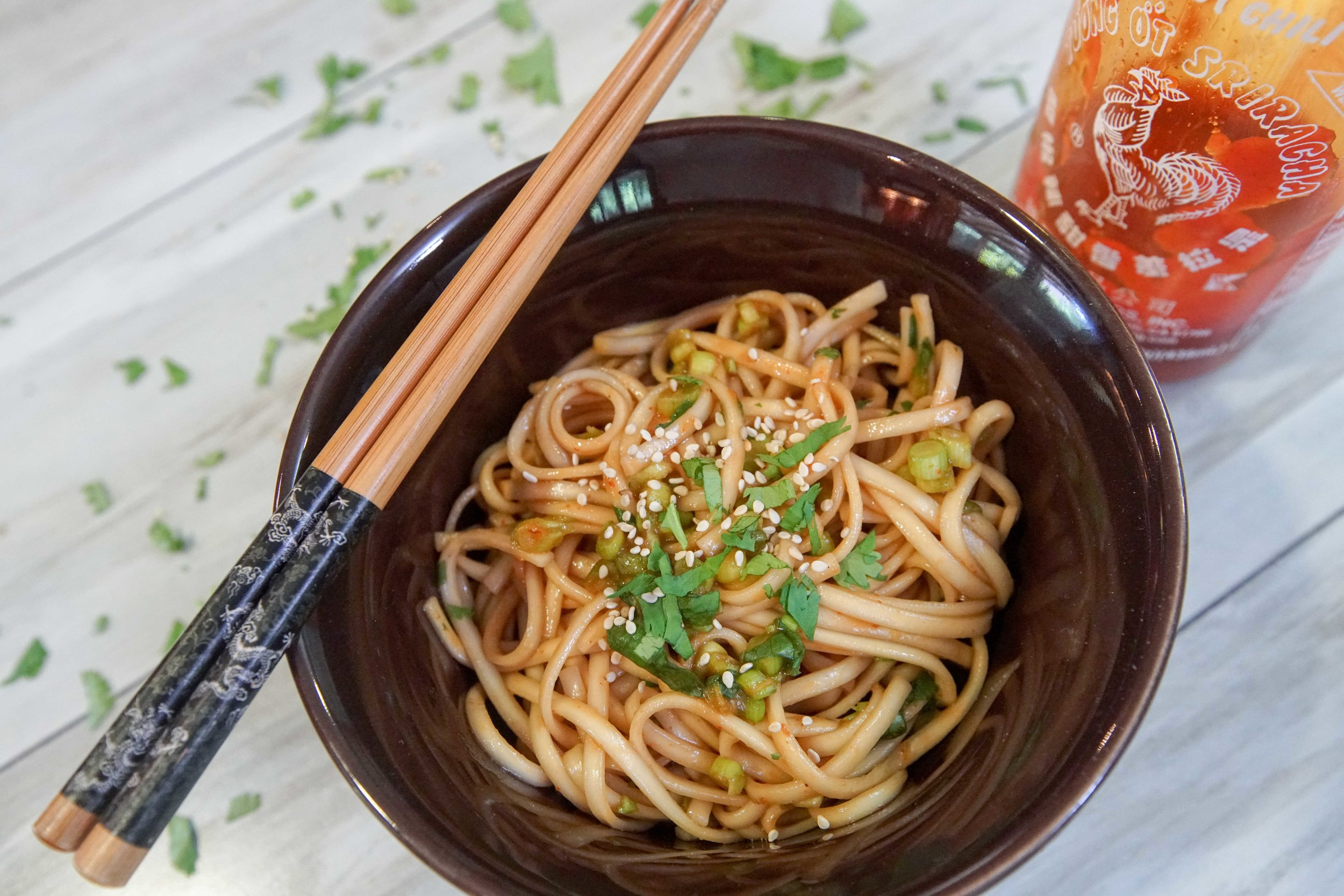 Quick Asian Noodles — SAM THE COOKING GUY