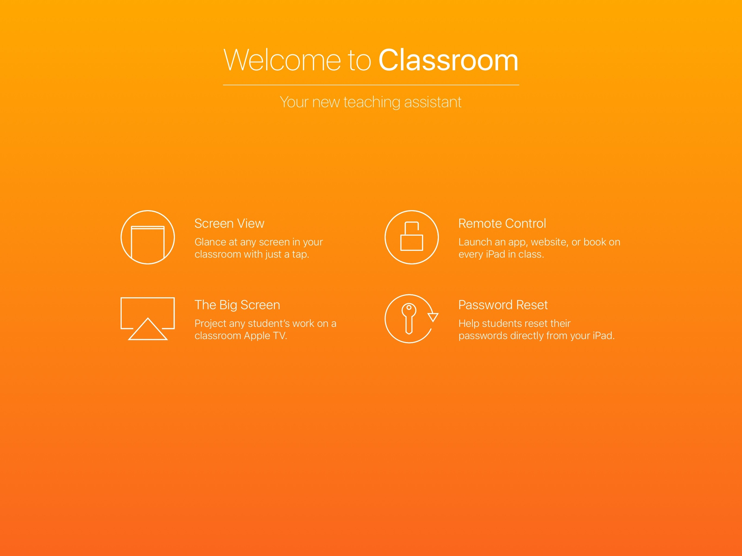 Just released: Apple Classroom App for iPads on iOS 9 3 — EdTech
