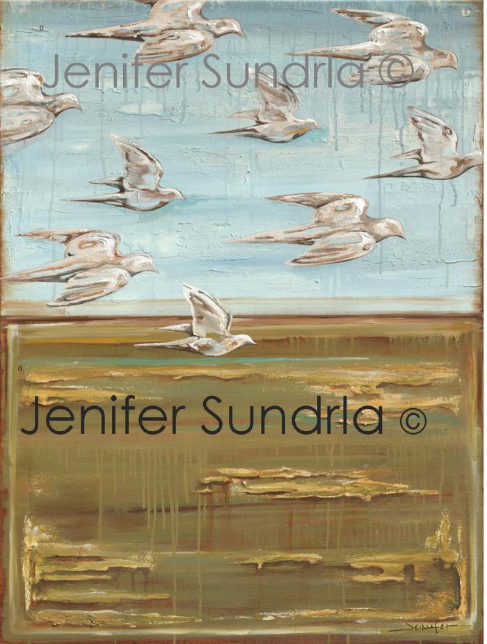 "Jenifer Sundrla, ""Opening Day"""