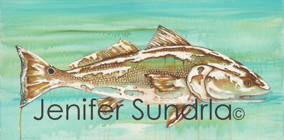 "Jenifer Sundrla, ""Red Fish"""