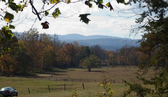 The entrance to Cades Cove.