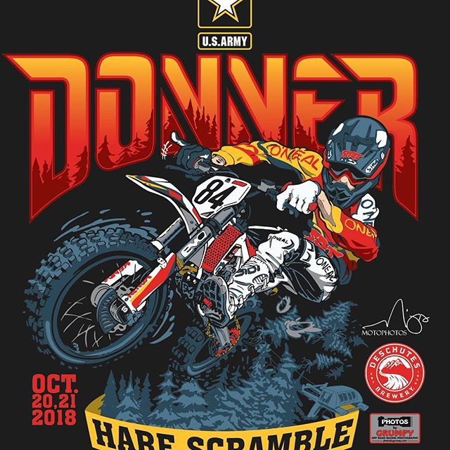 Coming in hot next weekend!! @trystanhart_84 @apocdesign @garrahan129m #donnerharescramble