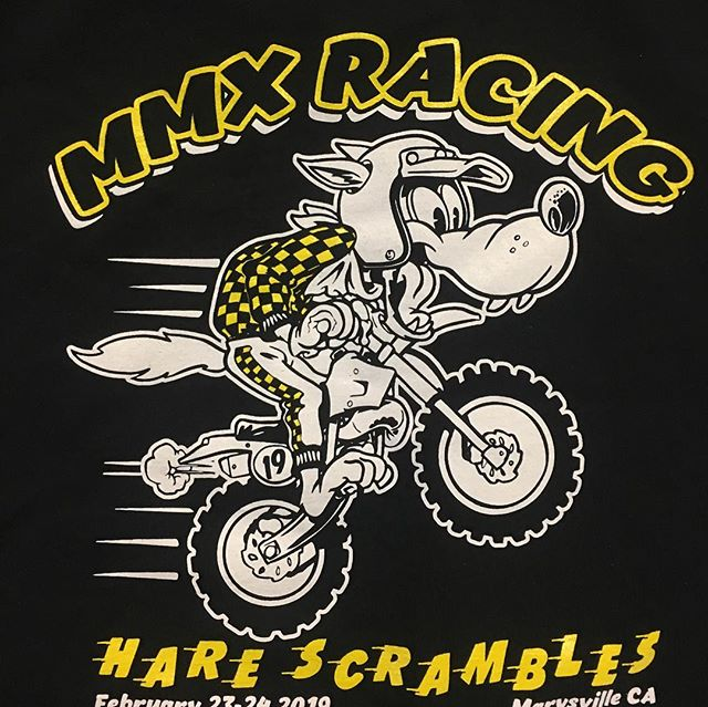 Come see us at MMX HareScrambles this weekend. @mmxracing @apocdesign killed it once again with the design.