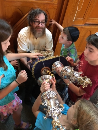 Decorating the Torah.JPG