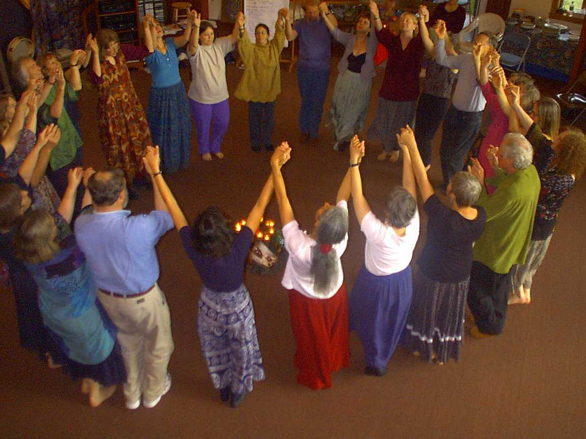 DANCING AT THE HIGHLANDS CENTER