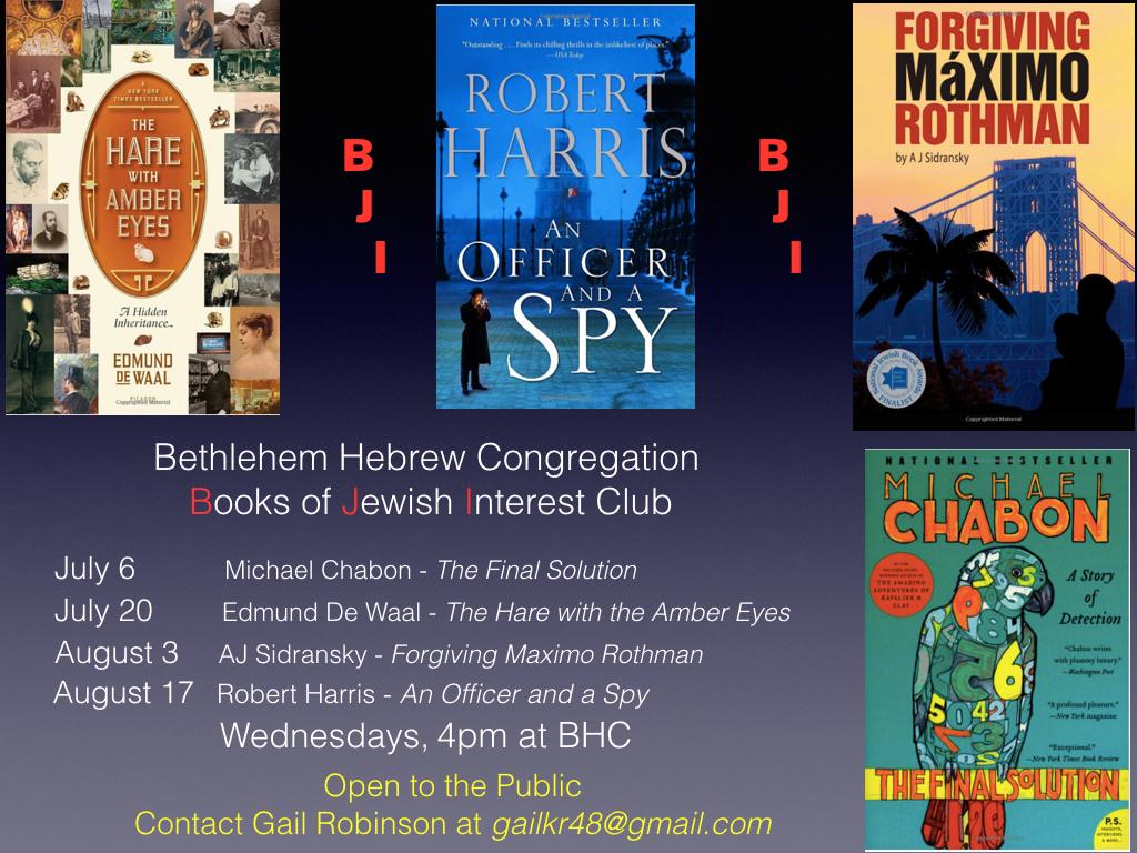 Books of Jewish Interest