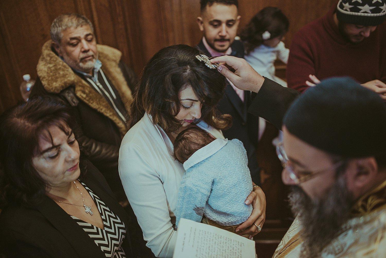 London Baby Coptic Orthodox Christening in Golders Green_0011.jpg