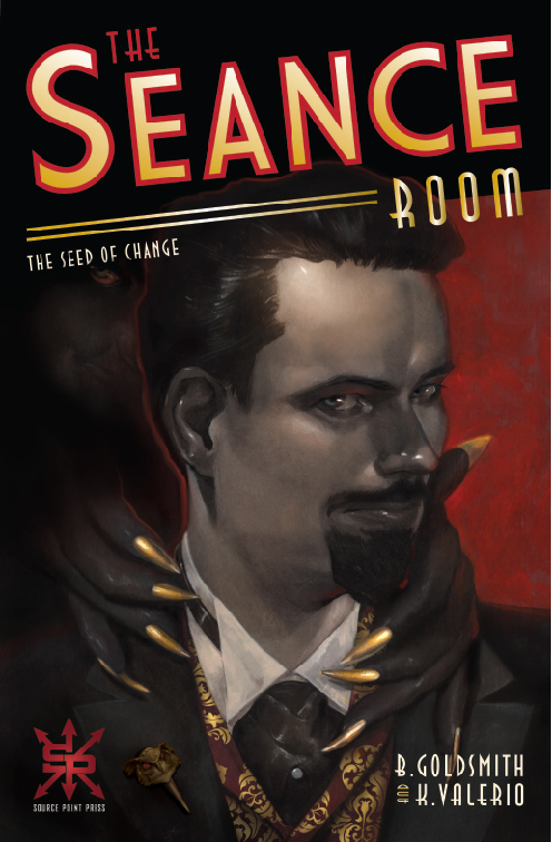 The Seance Room Issue 1 cover