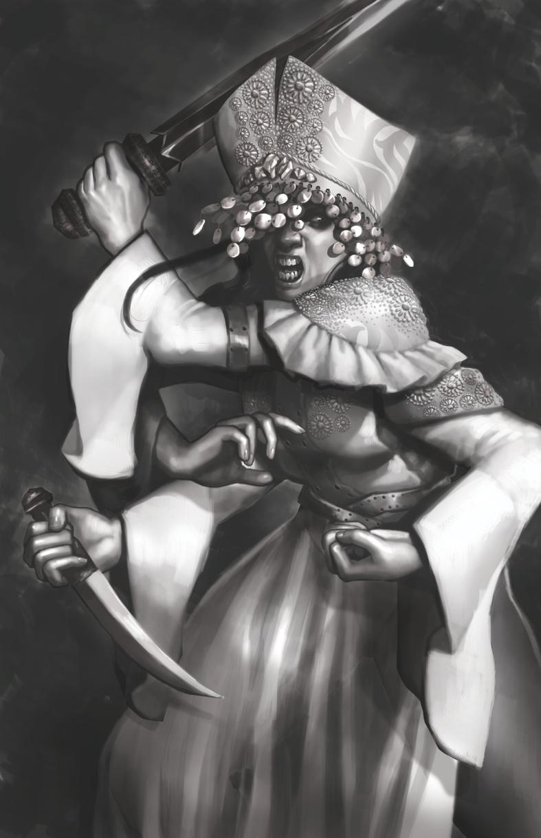 """Warrior"" concept"