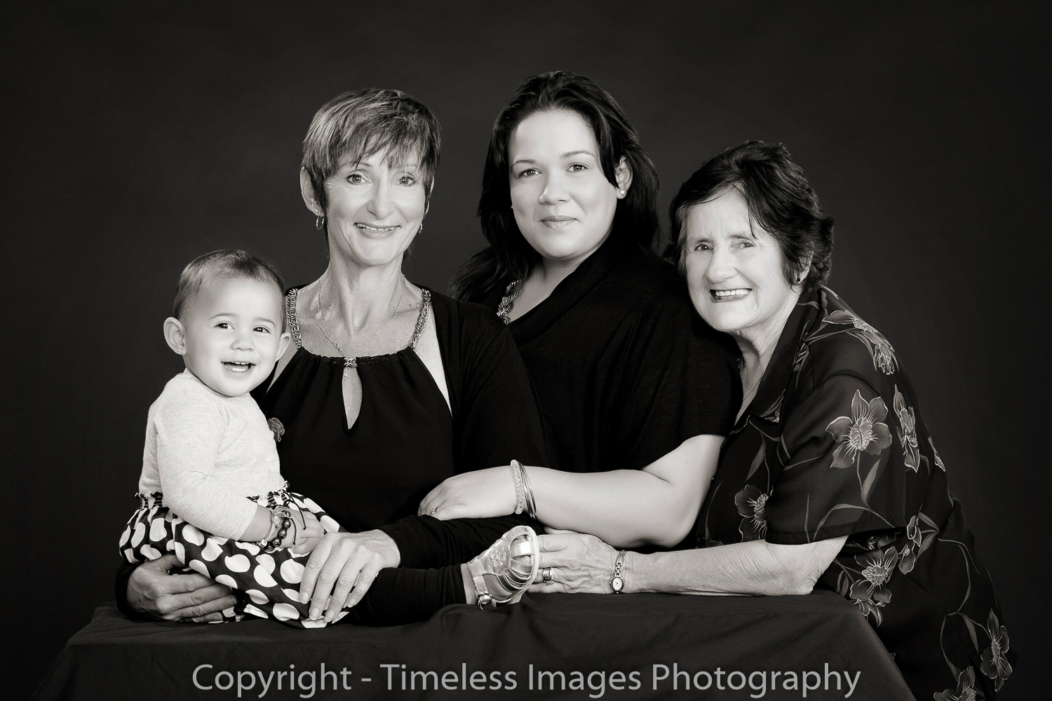 Four generations photoshoot