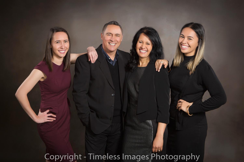 Family Portrait Auckland Studio